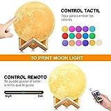 Zoom IMG-1 agm luna lampada led 3d