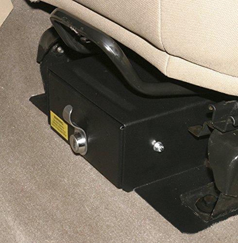Tuffy 250-01 Under Seat Security Drawer, Black