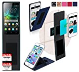 Hülle für Huawei Honor 4C Tasche Cover Hülle Bumper   Blau   Testsieger