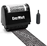 Evermark Identity Protection Roller Stamp, Confidential Roller Stamp Identity Theft Prevention Security Stamp, Perfect for Data Privacy ID Protection and Address Blocker - Redacting Marker Ink Roller