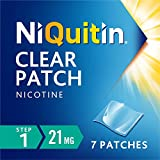 NiQuitin Clear Patch - Step 1 21mg, 7 Patches - Stop Smoking Aid