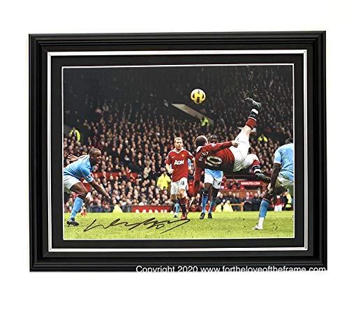 """Gerahmtes Foto mit Autogramm und Echtheitszertifikat """"For the love of the Frame"""" von Wayne Rooney Manchester United"""