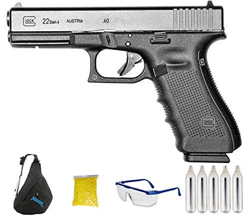 Umarex – G-22 Gen4   Pistola de Airsoft Calibre 6mm (Arma Aire Suave de Bolas de plástico o PVC). Sistema: CO2 <3,5J