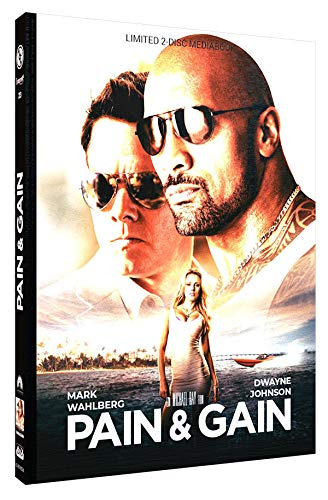 Pain & Gain - Mediabook - Cover A - Limited Edition auf 333 Stück (+ DVD) [Blu-ray]
