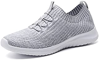 TIOSEBON Women's Slip On Walking Shoes Lightweight Casual Running Sneakers