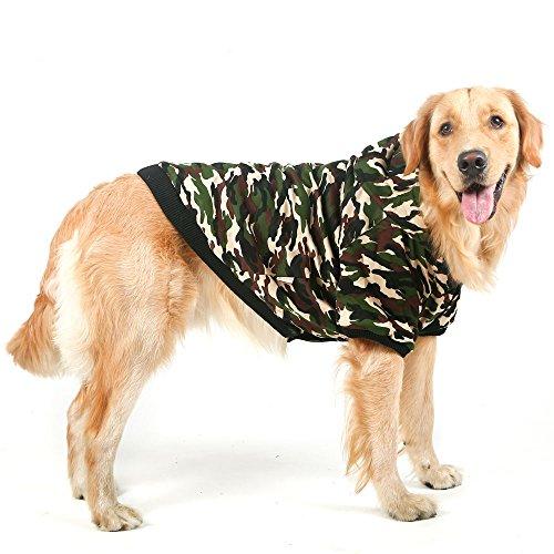 Coton à Capuche pour Chien Motif camouflage