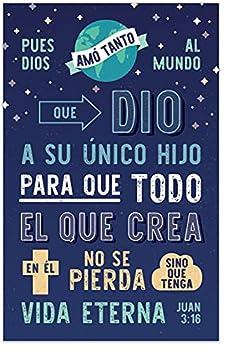 God s Way of Salvation  John 3 16   Gospel Tract Packet of 100 Spanish