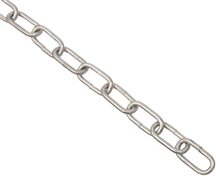 10mtr Length 6mm Galvanised Long Link Chain Max Load 200kg DIN763