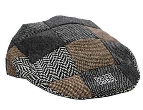 Patrick Francis Irlanda Multi Tweed cappello (M)