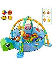 deAO Parque de Juegos Infantil Corralito para Bebé Incluye Bolas de Colores