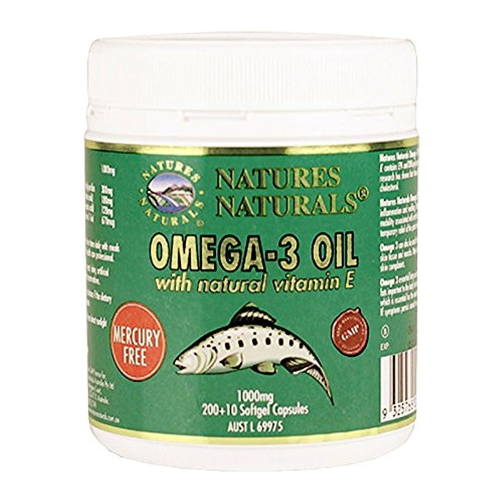 お別れ要件さわやか【オーストラリア産】スーパーオメガ3 (DHA/EPA ビタミンE配合) 1000mg(210錠)/Natures Naturals オーストラリア