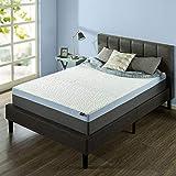 ZINUS 12 Inch Green Tea Pressure Relief Gel Memory Foam Mattress/Cooling Mattress/Zoned Airflow Design/Bed-in-a-Box, King
