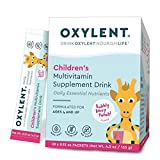 Oxylent Children's Bubbly Berry Punch Multivitamin Supplement Drink, 30 Packet Box