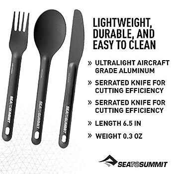 S2S Alphalight Ensemble de couverts de cuisine 3 pièces en aluminium