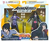 Naruto Shippuden Anime Heroes Itachi and Sasuke Uchiha Action Figure 2-Pack SDCC 2020 Entertainment Earth Exclusive