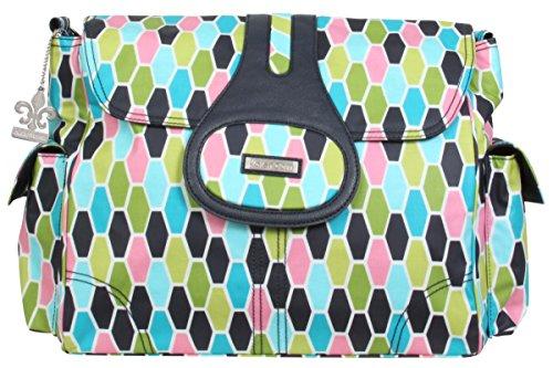 Kalencom Elite Diaper Bag, Honeycomb Green