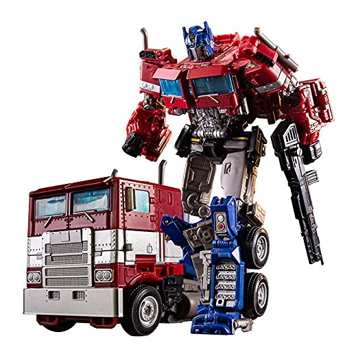 Action Figure Toys - Transforming Robot Model Toys Alloy Autobot Car Toy Deformation Transformation...