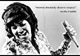 Ulterior Clothing Aretha Franklin Women Deserve Respect A1
