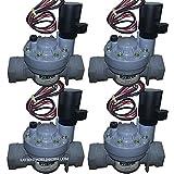 4 x ELECTROVALVULA RIEGO IRRITROL 2500MT 1' 9V 32MM PARA PROGRAMADORES RIEGO A BATERIA 9V PILAS