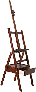 YXSDD Easel with Drawer Wood Easel Drawing Board Sketch Bracket Easel Adult Children Easel (Color : Walnut)