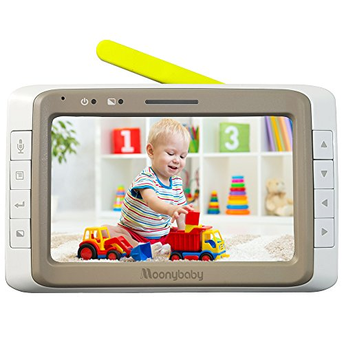 Best Bargain Moonybaby Replacement Monitor for MB55935BV and MB55935BV-2T. 5 Inches Split Screen Mon...
