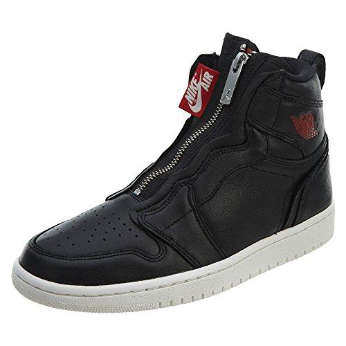 Nike Wmns Air Jordan 1 Hi Zip Prem, Scarpe da Fitness Donna, Multicolore (Black/Gym Red/Phantom 006), 40 EU