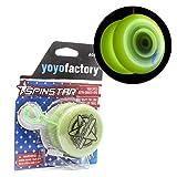 YoyoFactory SPINSTAR Yo-Yo - Glow (Iluminar, Genial para Principiantes, Juego Yoyo Moderno, Cuerda e Instrucciones Incluidas)