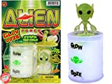 JA-RU Surprise Alien Glow in The Dark Slime Toy (1 Unit Assorted) Ooze Party Favors for Kids Stress Relief Toy. Pinata Filler Game. Plus 1 Bouncy Ball | 5574-1p