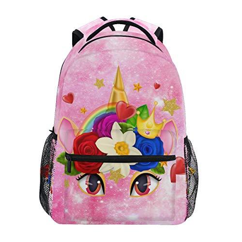 Cute Unicorn Backpack Bookbag for Boys Girls Elementary School 2021994