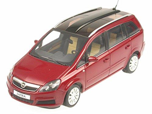 Opel Zafira rotmetallic Modellauto Minichamps 1:43