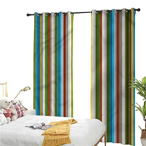Flora Grant op maat gemaakte gordijnen, gestreept, Diagonale eenvoudige lijnen, donkere slaapkamer woongordijn