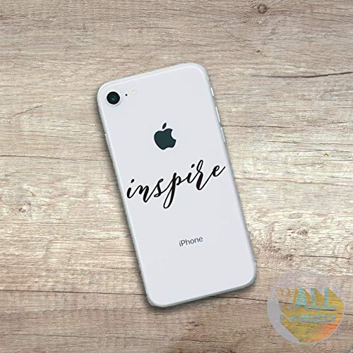 Tra56owe Inspire iPhone Sticker iPhone Decal iPhone Sticker Smartphone Sticker Inspirational Stickers For iPone 8 iPhone x