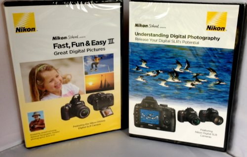 Nikon School Combo Pack Includes Fast, Fun & Easy & Understanding Digital...