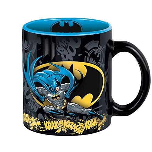 ABYstyle - DC Comics Batman Action Tasse für Erwachsene, mehrfarbig, 320 ml, ABYMUG205
