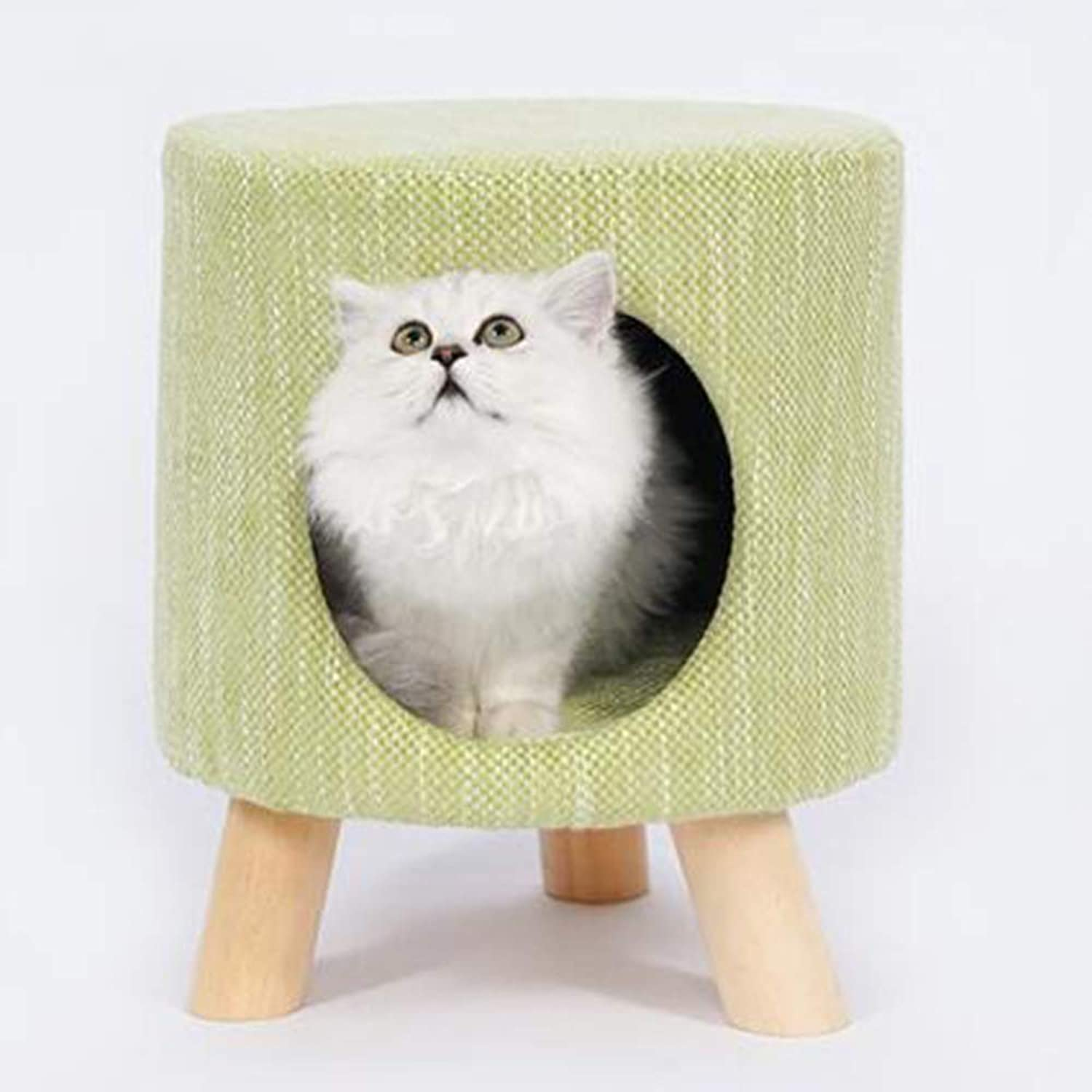 Cat Furniture,SemiClosed Creative Stool Cat Nest,Cat House, Teddy Dog Kennel
