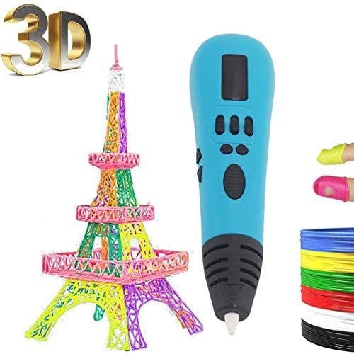 HYLL Stylo 3D stéréo 3D, Affichage LED PLA et PETG Filament Imprimante, Le Dessin de garçon de 6/7/8/8/09/10 Ans