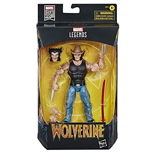 Marvel Classic- Legends Wolverine (Hasbro E86125L0)