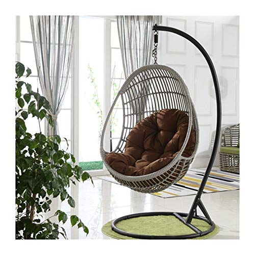 Chair Seat Pad Swing Hanging Basket Seat Cushion Cotton Fill Thicken Hanging Chair Cushion For Swing Chairs Rocking Chair Seats for Office Chair Lumbar Support Back Pillow