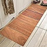 HLXX Alfombrillas de Cocina, Felpudo Antideslizante Impreso, Felpudo Europeo, alfombras de Entrada, alfombras Lavables para el hogar, Felpudo Interior A2 60x180cm