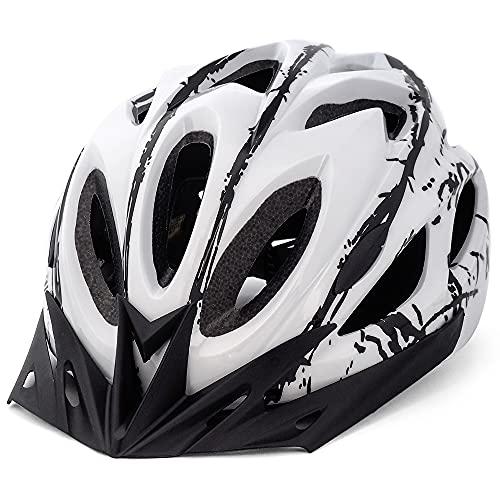 FUNWICT Casco Bicicleta con Visera...