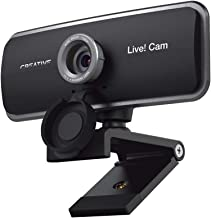 Creative Live! Cam Sync 1080p Full HD Wide-Angle USB Webcam with Dual Built-in Mic, Privacy Lens Cap, Universal Tripod Mou...