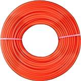 Dario Tools CMB322425 - Cable de rebordeadora (2,4 mm de Ancho, 25 m de Longitud), Color Rojo