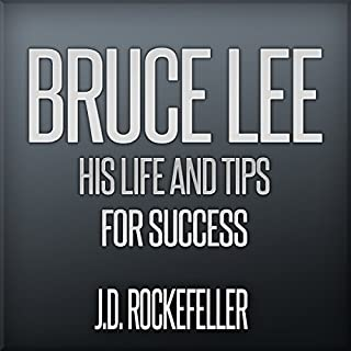 Bruce Lee: His Life and Tips for Success audiobook cover art