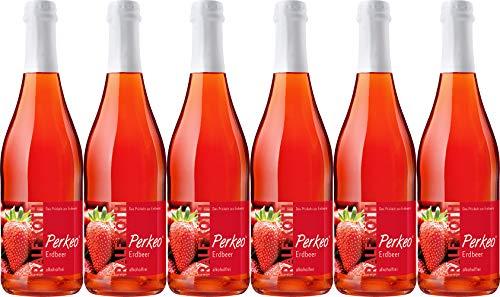 Wein & Secco Köth Perkeo Erdbeer Secco alkoholfrei (6 x 0.75 l)
