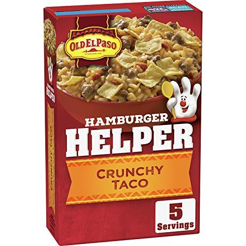 Hamburger Helper, Crunchy Taco, 7.6 oz box (Pack of 12)