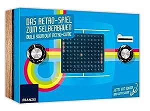 Eigene Retro-Spielekonsole bauen • Spiele-Klassiker Ping-Pong vorprogrammiert • Einfacher Zusammenbau • Alleine oder zu zweit spielbar je nach Erfahrung und Geschick. Oder fordern Sie einen Freund heraus. So ist immer beste Unterhaltung garantiert. •...