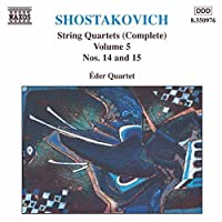 Shostakovich: String Quartets Nos. 14 & 15, Vol. 5 (1998-05-12)