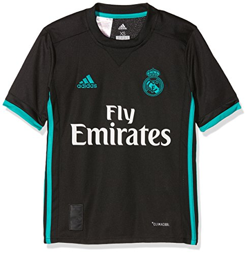 adidas Real Madrid CF Away Youth Jersey [Black] (M)