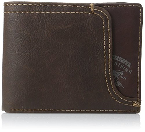 Levi's Men's Leather Wallet, Brown Passcase, One Size