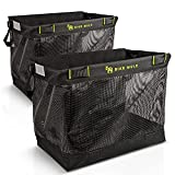 Bike Mule - Grocery Pannier Bags - The Ultimate Carrier Baskets for Shopping with Your Bicycle - Pair